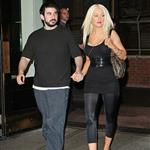 Christina Aguilera in New York with husband Jordan Bratman to promote her fragrance Inspire 24251