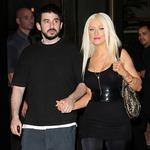 Christina Aguilera in New York with husband Jordan Bratman to promote her fragrance Inspire 24250