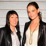 Jeanne Yang and Katie Holmes present Holmes & Yang during Spring 2013 Mercedes-Benz Fashion Week 126048