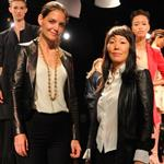 Jeanne Yang and Katie Holmes present Holmes & Yang during Spring 2013 Mercedes-Benz Fashion Week 126055