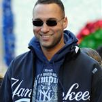 Minka Kelly and Jay-Z join Derek Jeter and ARod at the Yankee Championship parade 50158