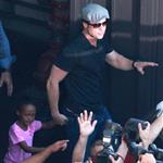 Brad Pitt and Zahara cause riot at American Girl at The Grove 69482