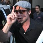 Brad Pitt and Zahara cause riot at American Girl at The Grove 69487