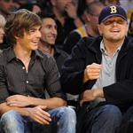 Zac next to Leo at Lakers game 3 weeks ago 29270