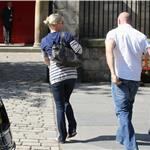 Zara Phillips wedding rehearsal in Scotland 90901