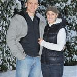 Zara Phillips engagement photos outside her house in Gloucestershire  75511
