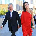 Michael Douglas and Catherine Zeta Jones in New York at Robin Hood Foundation May 2010  60763