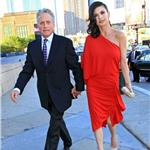 Michael Douglas and Catherine Zeta Jones in New York at Robin Hood Foundation May 2010  60766