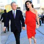 Michael Douglas and Catherine Zeta Jones in New York at Robin Hood Foundation May 2010  60768
