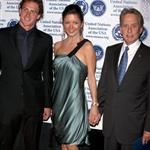 Catherine Zeta-Jones has raw chemical peel face while attracted to Ryan Lochte at Global Leadership Awards Gala with Michael Douglas  25494