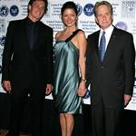 Catherine Zeta-Jones has raw chemical peel face while attracted to Ryan Lochte at Global Leadership Awards Gala with Michael Douglas  25489