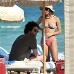 Zoe Kravitz and Penn Badgley on holiday in Miami for Christmas  101386