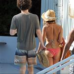 Zoe Kravitz and Penn Badgley on holiday in Miami for Christmas  101389