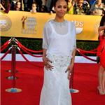 Zoe Saldana at the 2012 SAG Awards 104347