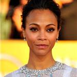 Zoe Saldana at the 2012 SAG Awards 104348