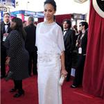 Zoe Saldana at the 2012 SAG Awards 104356