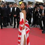 Zoe Saldana at the Tree of Life premiere in Cannes  85600