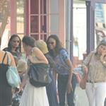 Zoe Saldana in New York with a woman the paps claim is Bradley Cooper's mother Gloria 119292