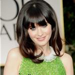 Zooey Deschanel at the 2012 Golden Globe Awards 102997