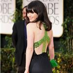 Zooey Deschanel at the 2012 Golden Globe Awards 103000