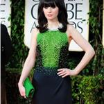 Zooey Deschanel at the 2012 Golden Globe Awards 103001