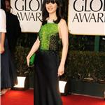 Zooey Deschanel at the 2012 Golden Globe Awards 103004