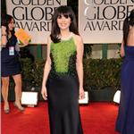 Zooey Deschanel at the 2012 Golden Globe Awards 103006