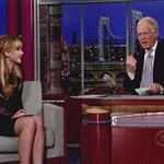 Jennifer Lawrence at The Late Show with David Letterman 1182