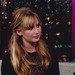 Jennifer Lawrence at The Late Show with David Letterman 1185