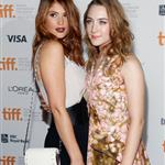 Saoirse Ronan and Gemma Arterton at the TIFF premiere of Byzantium  107822