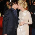 Amber Heard and Johnny Depp at the UK premiere of The Rum Diary  95768