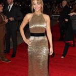 Jennifer Lawrence at the UK premiere of The Hunger Games 102552