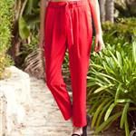 Drawstring Harem Pants 104142