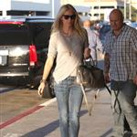 Gwyneth Paltrow arriving at LAX to catch a flight to Toronto for TIFF 107548