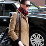 Anne Hathaway leaves the gym in New  York  96595