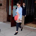 Katie Holmes leaves her Manhattan Hotel 96672
