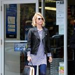 January Jones out in Tribeca 102623