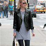 January Jones out in Tribeca 102624