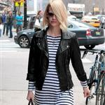 January Jones out in Tribeca 102625
