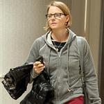 Jodie Foster arrives at LAX 96181