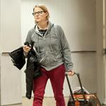 Jodie Foster arrives at LAX 96182
