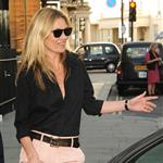 Kate Moss leaves HIX restaurant in London 102910