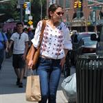 Katie Holmes out in Manhattan 105335