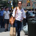 Katie Holmes out in Manhattan 105337