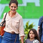 Katie Holmes out in New York City with Suri Cruise 104830