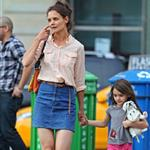 Katie Holmes out in New York City with Suri Cruise 104831