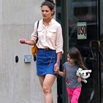Katie Holmes out in New York City with Suri Cruise 104832
