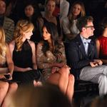 Minka Kelly (with Brad Goreski) attends TRESemme at Jenny Packham Spring 2013 Mercedes-Benz Fashion Week at The Studio at Lincoln Center 108416