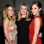 Minka Kelly (with Lauren Conrad and Jenny Packham) attends TRESemme at Jenny Packham Spring 2013 Mercedes-Benz Fashion Week at The Studio at Lincoln Center  108417