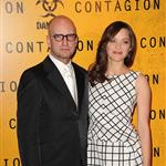 Marion Cotillard with Steven Soderbergh at the Contagion premiere in Paris 95445